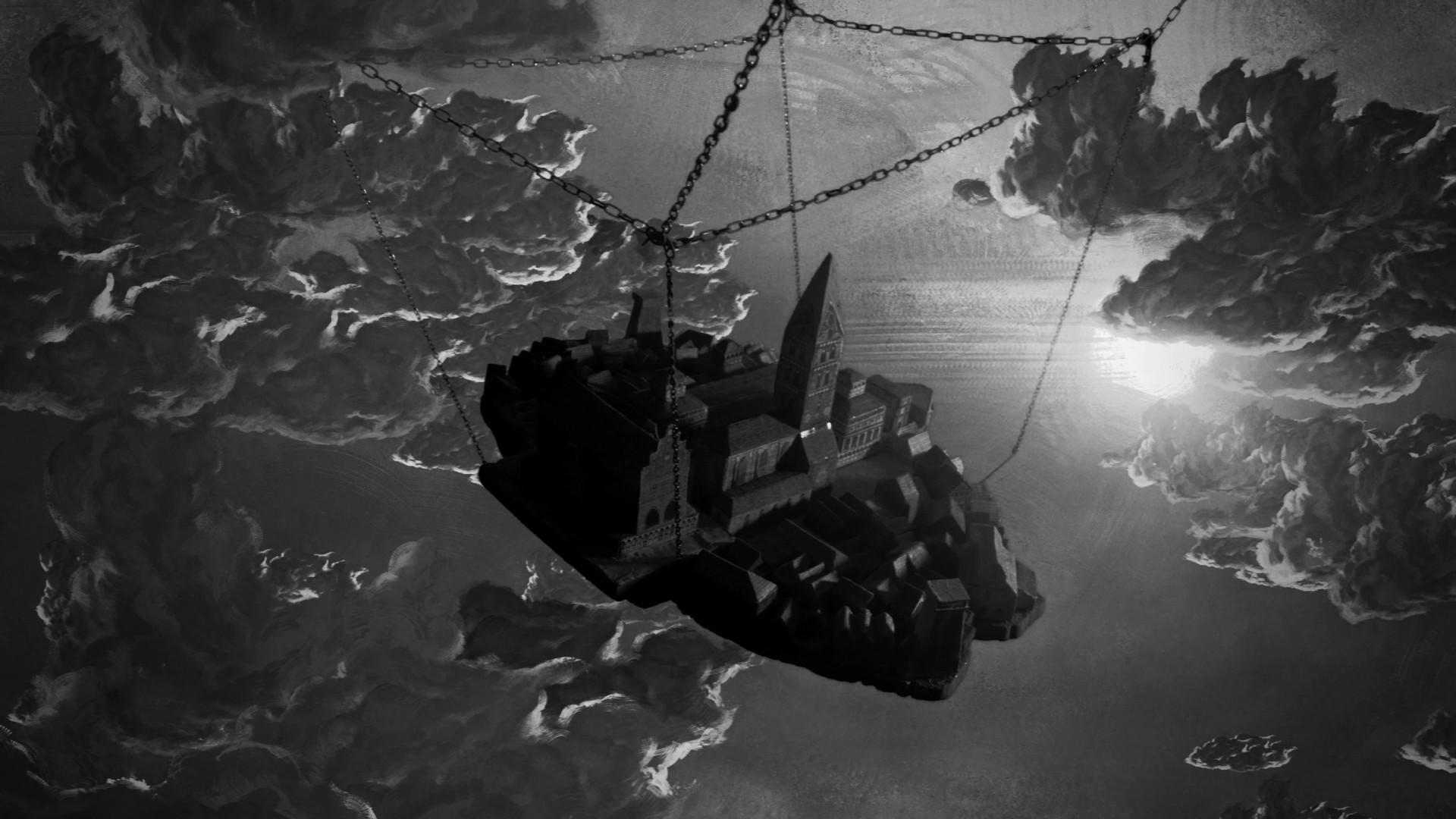 """""""Das abstürzende Luftschiff"""" von Ivan Dubrovin (Foto: Vincent Eckert)"""